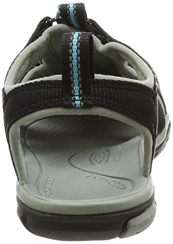 W KEEN Clearwater Radiance 0 35 Black Sandalias CNX Negro gEUxwPq6E