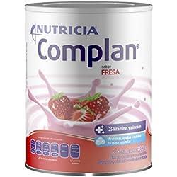 COMPLAN Suplemento Alimenticio, Sabor Fresa, 400 g
