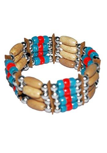 [Native American Bracelet (Standard)] (Indian Beaded Bracelet)