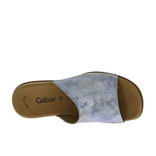 Gabor Damer Muldyr - Blå Sko I Størrelser End Flod / Ef (mikro) LzPGWI