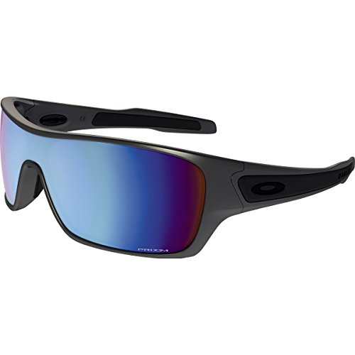 Oakley Men's Turbine Rotor 0OO9307 Polarized Iridium Rectangular Sunglasses, Steel, 32 - Best Oakleys
