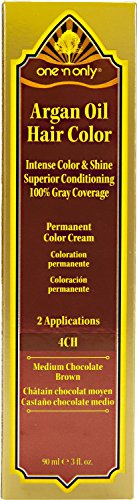 One 'n Only 4CH Medium Chocolate Brown Permanent Hair Color