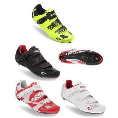 Giro 2013 Men's Factor Road Bike Shoes (Black - 48)