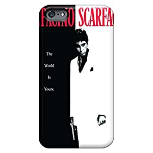 iphone 6plus 6p Customized mobile phone back case New Snap-on case cover cases scarface