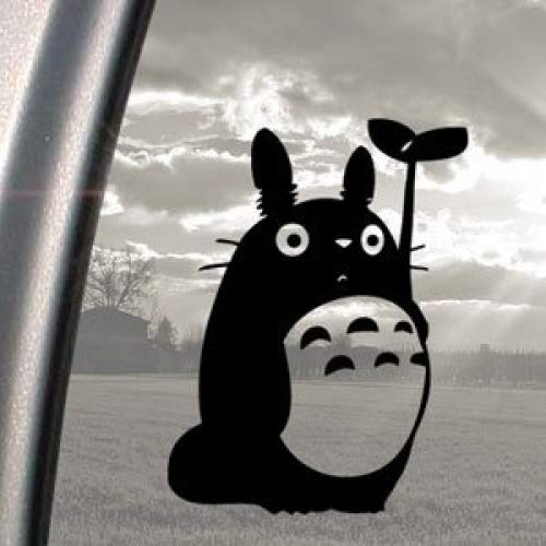 Totoro Black Decal Studio Ghibli Car Truck Window Sticker Ritrama