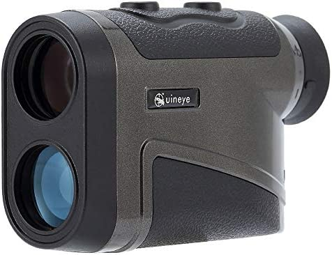 Uineye Laser Rangefinder – Range 5-1600 Yards, 0.33 Yard Accuracy, with Height, Angle, Horizontal Distance Measurement Perfect for Hunting, Golf, Engineering Survey