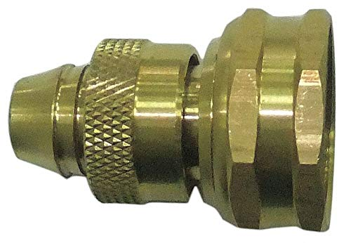 Brass Hose Connector, 3/4'-11.5FNH (GHT) Connection - pack of 5