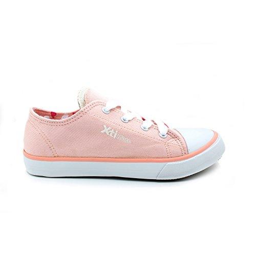 XTI, Sneaker bambine rosso Rosa