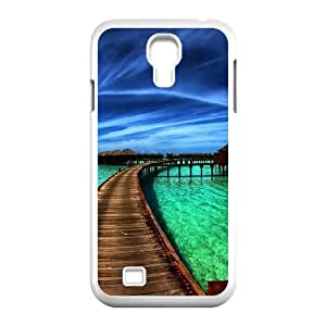 Scenery Samsung Galaxy S4 9500 Cell Phone Case White rryk