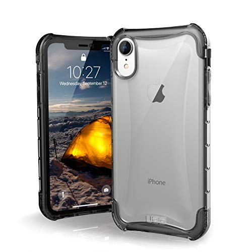 URBAN ARMOR GEAR UAG iPhone XR [6.1-inch screen] Plyo Feather-Light Rugged [Ice] Military Drop Tested iPhone Case ()