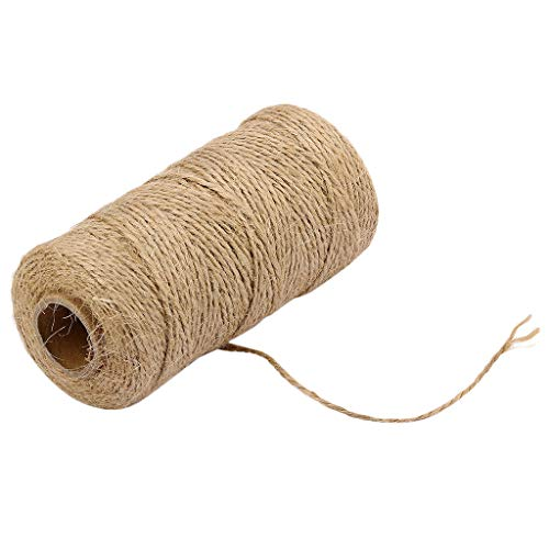 Creative Homemade Handmade Art 100M Handmade Linen Cords Burlap Twine Rope String Creative Craft Decoration