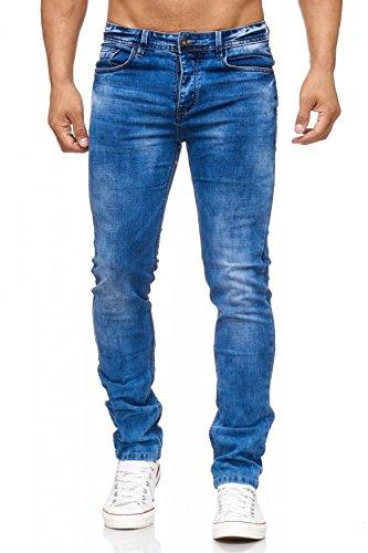 Chercher Arizonashopping H2029 5 Classique Extensible Leg Fuselé Washed Bleu Hommes Denim Pocket Slim Jean Jeans Stone O6wrgxOqA