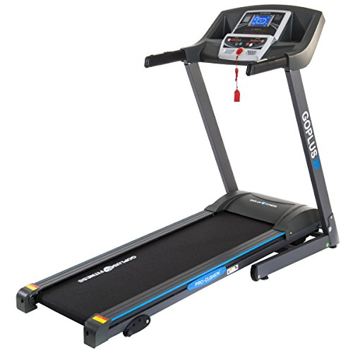 CHOOSEandBUY 2.25 HP Folding Electric Treadmill Motorized Power Running Machine Power Running Machine
