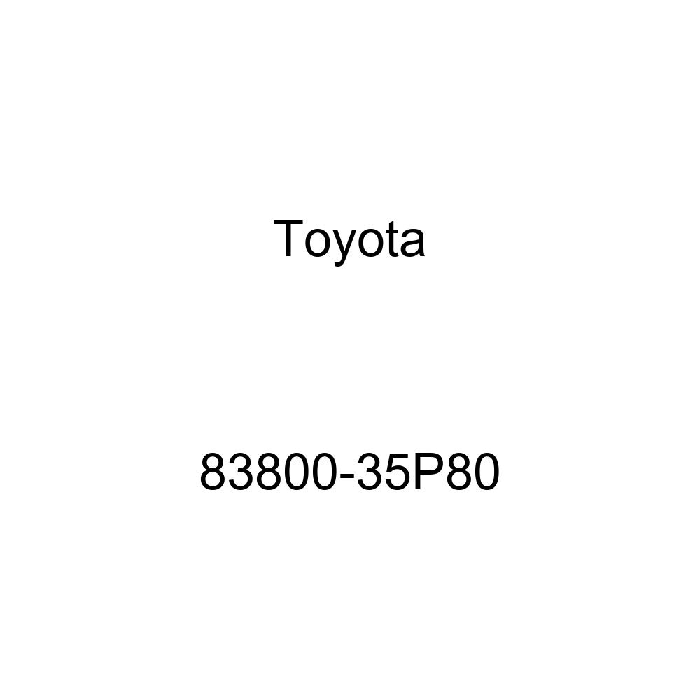 TOYOTA Genuine 83800-35P80 Combination Meter Assembly