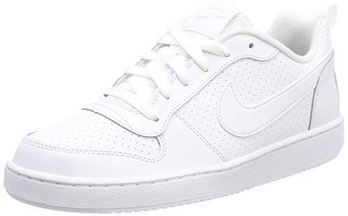 Nike Nike Borough Court Court Chaussures white Blanc white Low 100 white De gs Homme Basketball pqaxprwd