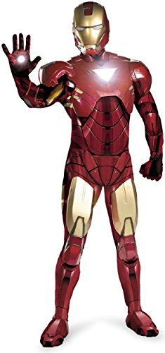 Disguise Marvel Men's  Iron Man Mark 6 Adult,Multi,XL (42-46) Costume