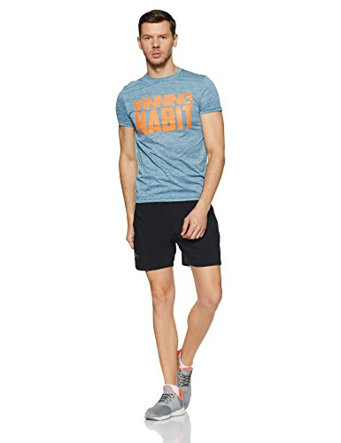 Under Armour Men's Launch 5'' Shorts,Black /Reflective, Small by Under Armour (Image #5)