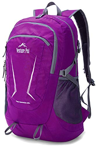 f7ac33c28e Galleon - Venture Pal Large 45L Hiking Backpack - Packable Lightweight  Travel Backpack Daypack For Women Men (Purple)