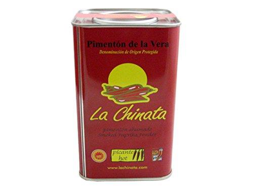 La Chinata Pimenton de la Vera Picante DOP (Hot Smoked Spanish Paprika Powder) Food Service Size by La Chinata