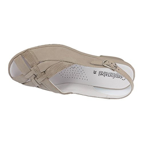 Taupe Comfortabel Damen Comfortabel Comfortabel Damen Taupe Sandalette Damen Sandalette aqw8nBzE