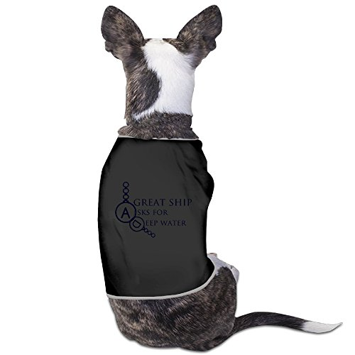 Custom Pet Wear A Great Ship Ask For Deep Water For Dogs Cat 100% Polyester