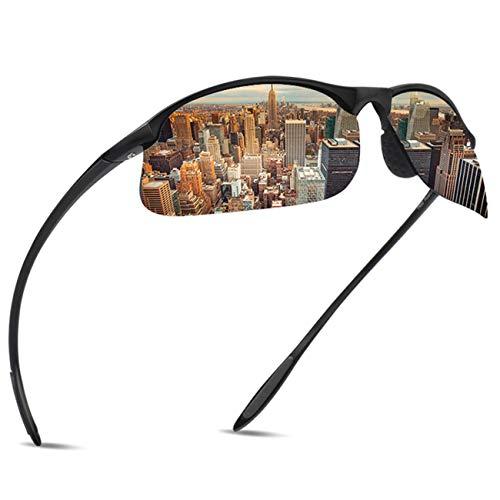 JULI Polarized Sports Sunglasses for Men Women Tr90 Unbreakable Frame for Running Fishing Baseball Driving ()