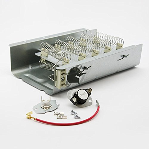 Price comparison product image 279838 AND 279816 Dryer Heating Element and Thermostat Combo Pack for Whirlpool Kenmore Electric Dryers