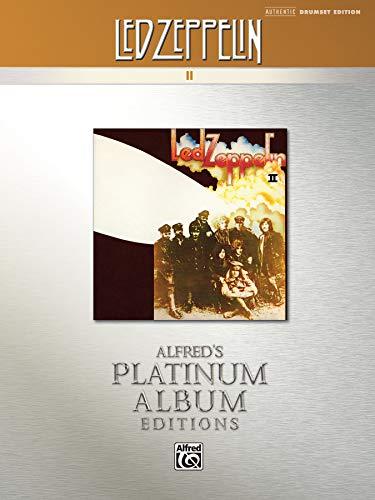 Led Zeppelin -- II Platinum Drums: Drum Transcriptions (Alfred's Platinum Album Editions) (Surplus Leds)