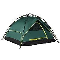Tienda de campaña para acampar al aire libre, impermeable y automática para 2 personas