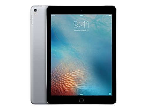 Apple iPad Pro 9.7-inch (128GB, Wi-Fi, Space Gray) 2016 Model - (Renewed)