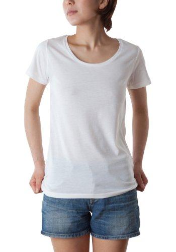 [ダルク]半袖 4.0オンス T/C クルーネック Tシャツ DL201 [レディース]