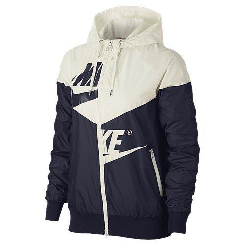 Nike Womens W Nsw Wr Jkt Gx Aj2974 Vela / Ossidiana / Vela / Ossidiana