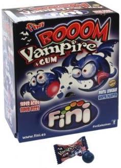 Fini – Boom Vampire – ftalatos con Chicle Relleno – Caja con 200 ...