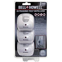 Bell and Howell Ultrasonic Pest Repellers, 3 Pack