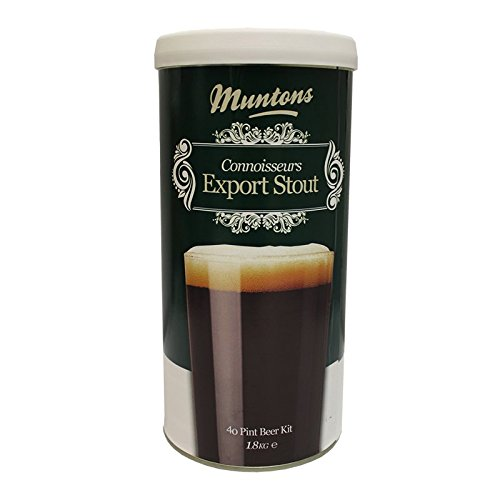 [Munton's Export Stout Hopped Kit 40 Pint Beer Kit] (Hopped Extract)