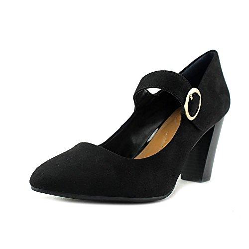 Style & vbDoFJPxof Womens Alabina Suede Closed Toe Ankle Strap Black