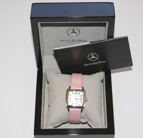 Mercedes-Benz Tourneau Women's Leather Strap WATCH SWISS QUARTZ WATCH -  MBTRNWMPLT