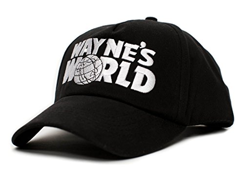 Waynes World Costume Hat (Wayne's World Movie Logo Embroidered Costume Hat)