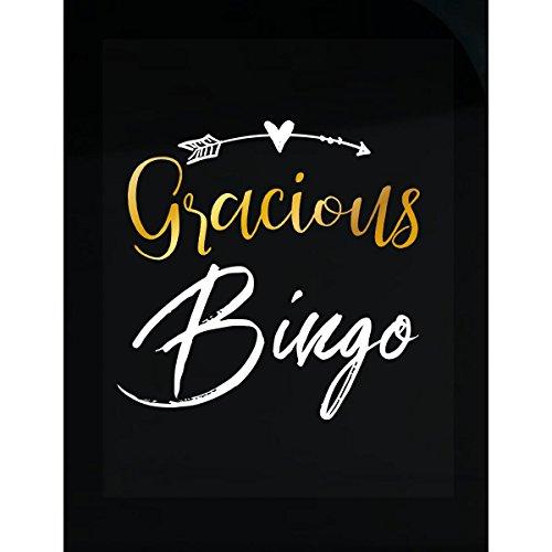 My Family Tee Gracious Bingo Name Mothers Day Present Grandma - Sticker by My Family Tee