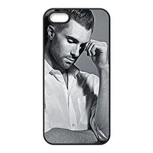 Distinctive handsome mature man Cell Phone Case for iPhone 5S