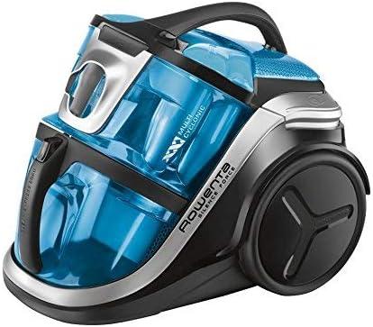 Rowenta Silence Force Multicyclonic - Aspiradora, 750 W, 2 L, 68 dB, Negro/Azul: Amazon.es: Hogar