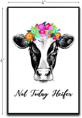COW MAGNET FRIDGE COWS MAGNETS GIFT IDEA FARM ANIMAL CATTLE NOVELTY ITEM  NEW