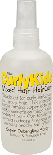 Curly Kids Super Detangling Spray, 6.0 oz Pack of 7