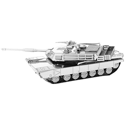 Fascinations Metal Earth M1 Abrams Tank 3D Metal Model Kit ()