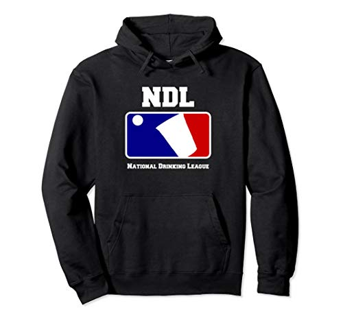 USA National Drinking League Funny Beer Pong Game Hoodie