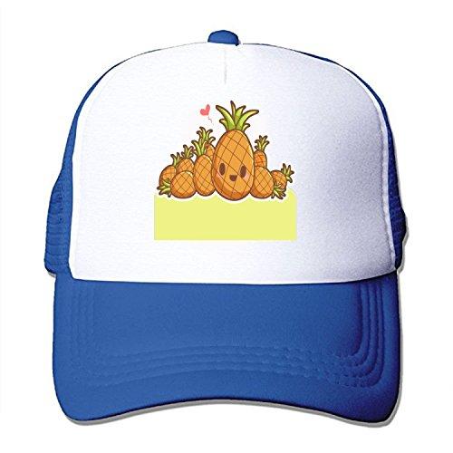 TZKDHCA Header Pineapple Adjustable Printing£¬ Mesh Hat Unisex Adult Baseball. ()