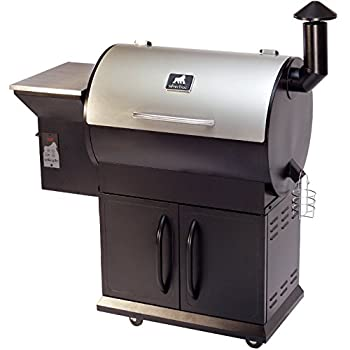 Grilla Grills Silverbac Wood Pellet Grill with Digital Controls