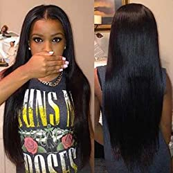 ISEE Hair 8A Peruvian Remy Hair Silky Straight Hair Weave 100% Unprocessed Peruvian Straight Hair 3 Bundles Natural Color 20 22 24inches