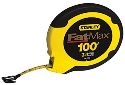 "24 Pack Stanley 34-130 100 x 3/8"" FatMax Long Tape"