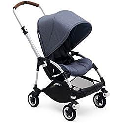 Bugaboo Bee5 Complete Stroller, Aluminum / Blue Melange